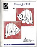 L J Designs Versa Jacket Pattern 773 Uncut