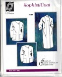 L J Designs SophistiCoat Sewing Pattern Uncut