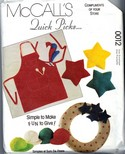 McCalls 0012 Quick Picks Accessories Pattern UNCUT