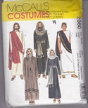 McCalls 2060 Passion Play Costume Pattern Large UNCUT