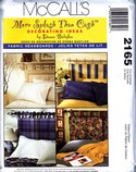 McCalls 2165 Donna Babylon Fabric Headboard Pattern UNCUT