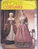 McCalls 2253 Revolutionary Dress Costume Pattern Size F UNCUT