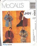 McCalls 2404 Polar Gear Coat Pattern UNCUT