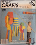 McCalls 2438 Windsock Sewing Pattern Uncut