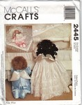 McCalls 2445 Praying Angel Doll Pattern UNCUT