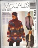 McCall's 2956 Unlined Jacket Pattern UNCUT