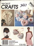 McCalls 3427 Lace Delights Accessories Pattern UNCUT