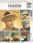 McCalls 3895 Hat Pattern UNCUT