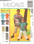 McCalls 3997 Boys Shirt Pants Pattern UNCUT