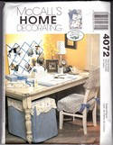 McCalls 4072 Laura Ashley Home Decorating Pattern UNCUT