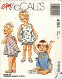 McCalls 4154 Toddler Sundress Sewing Pattern UNCUT