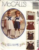 McCalls 4617 Size 2 Kitty Benton Sewing Pattern UNCUT