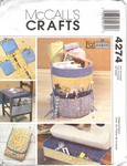 McCalls 4274 Sewing Accessories Pattern UNCUT
