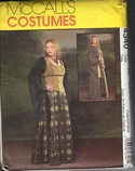 McCalls 4340 Size AA Medieval Gown Corset Robe Pattern UNCUT