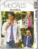 McCall's 4385 Jean Jacket Sewing Patern UNCUT