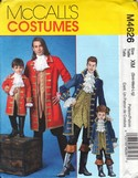 McCalls 4626 Pirate Buccaneer Costume Pattern UNCUT