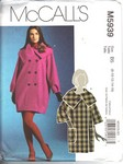 McCalls 5939 B5 Modern Coat Pattern UNCUT