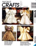 McCalls 6156 Christmas Angel Package Pattern UNCUT
