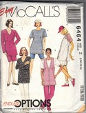 McCall's 6464 Stretch Knits Wardrobe Pattern Large UNCUT
