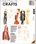 McCalls 658 Fashion Doll Wardrobe Sewing Pattern Uncut
