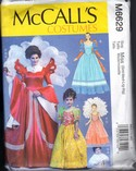 McCalls 6629 Queen Princess Fantasy Costume Pattern UNCUT