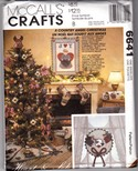 McCalls Country Angel Christmas Craft Pattern Uncut