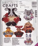 McCalls 6662 Treat Halloween Basket Pattern UNCUT