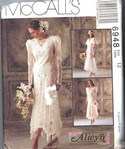 McCalls 6948 Bridal Bridesmaid Pattern Alicyn UNCUT