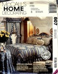 McCalls 807 Bedroom Essentials Pattern UNCUT
