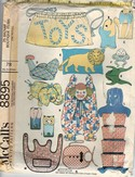 McCalls 8895 Bazaar Boutique 25 Item Vintage Pattern UNCUT