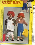 McCalls 9494 Raggedy Ann Andy Costume Pattern