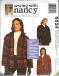 McCalls 9524 Sewing with Nancy Jacket Pattern UNCUT