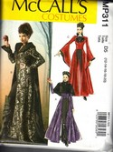 McCalls MP311 Gothic Coat Evil Queen Pattern UNCUT