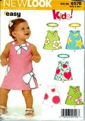 New Look 6576 Toddler Sundress Pattern UNCUT