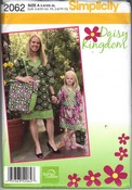 Simplicity 2062 A Mother Daughter Daisy Kingdom Dress Pattern