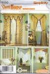Simplicity 5050 Showhouse Windows Pattern UNCUT