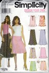Simplicity 5065 Size R5 Design Your Own Skirt Pattern UNCUT