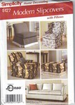 Simplicity 5127 Modern Slipcovers Pillows Pattern UNCUT