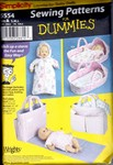 Simplicity 5554 Baby Doll Layette Pattern UNCUT