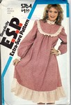 Simplicity 5764 Size 14 Vintage Full Dress Pattern UNCUT