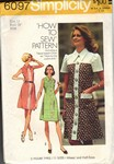 Simplicity 6097 Size 12 Vintage Dress Pattern UNCUT