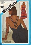 Simplicity 6391 Pullover Sundress Pattern UNCUT