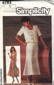 Simplicity Camisole, Jacket & Skirt Pattern UNCUT