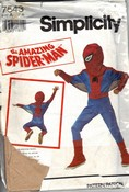 McCalls 7543 Spiderman Costume Pattern