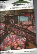 Simplicity 7485 Slipcover Instruction Pattern
