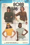 Simplicity 8088 Size Small Vintage Jiffy Top Pattern