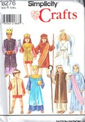 Simplicity 8276 Child Nativity Costume Pattern UNCUT