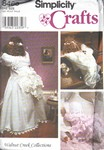 Simplicity 8466 Time Out Doll Elaborate Costume UNCUT
