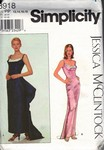 Simplicity 8918 Jessica McClintock Dress Pattern UNCUT