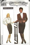 Simplicity 9409 Size HH Jones New York Suit Pattern UNCUT